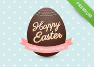 Chocolate-easter-egg-psd-background