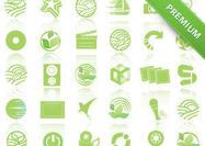 Eco-green-icon-psd-pack