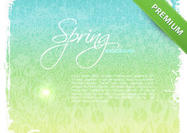 Floral-spring-background-psd