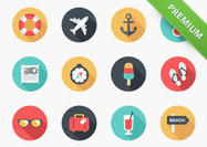 Summer-icon-psd-pack