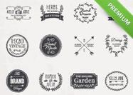 Hand-drawn-logo-psd-pack