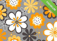 Spring-flowers-background-psd