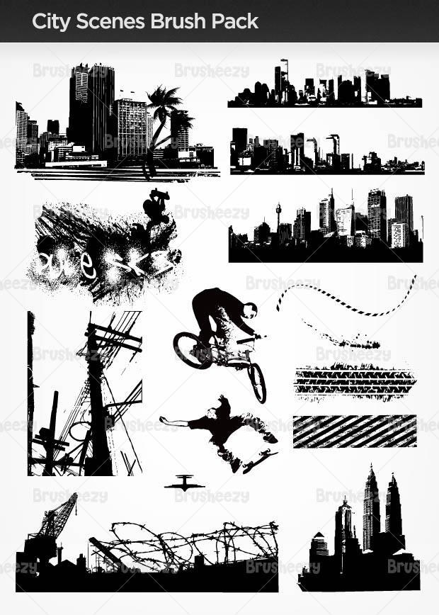 Cityscenesbrush