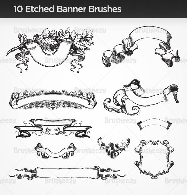10etchedbannerbrush