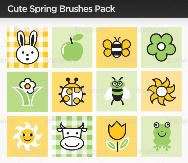 Cute-spring-brushes