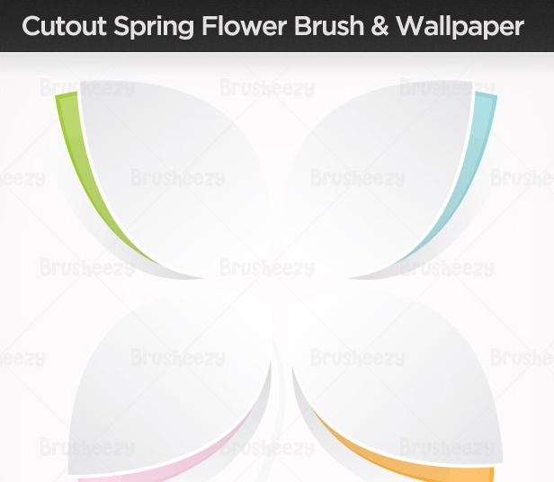 Cutout-spring-flower