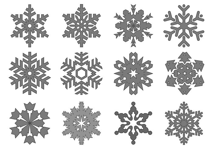 Snowflake Brush Pack