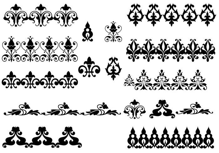 Ornament Brush Pack