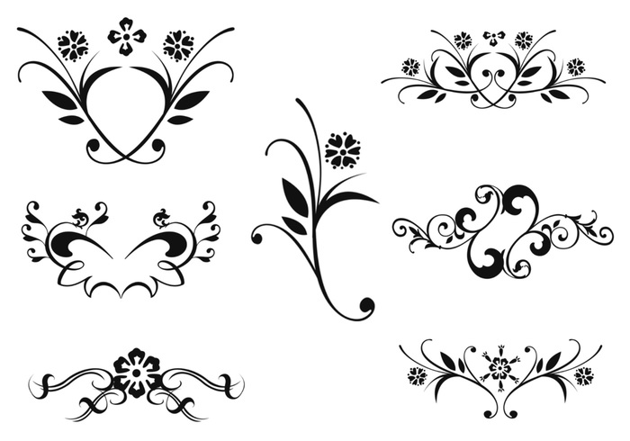 Floral Ornament Brush Pack Two