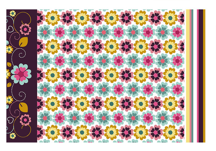 Floral Wallpaper and Pattern Pack
