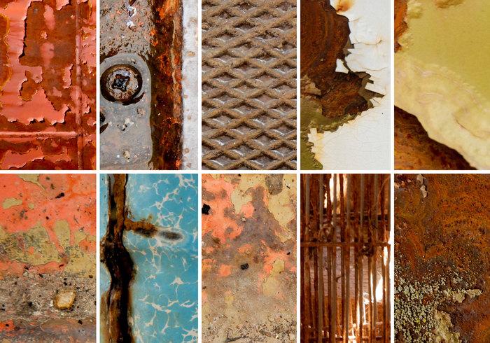 Rusty Metals Texture Pack
