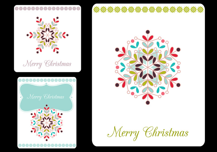 Merry Christmas Tags Brush Pack