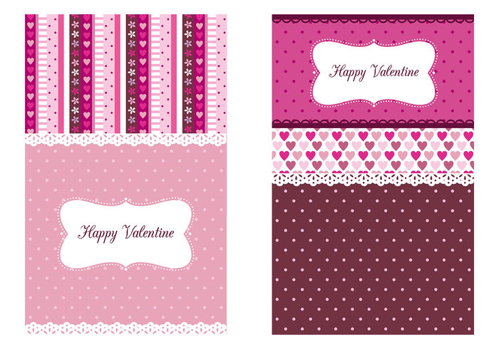 Valentine's Day Wallpaper Tri - Pack