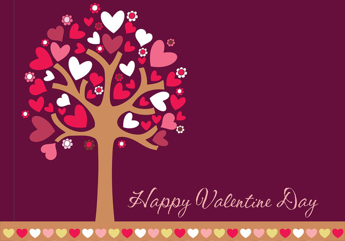 happy valentine's day wallpaper & border pack - free photoshop, Ideas