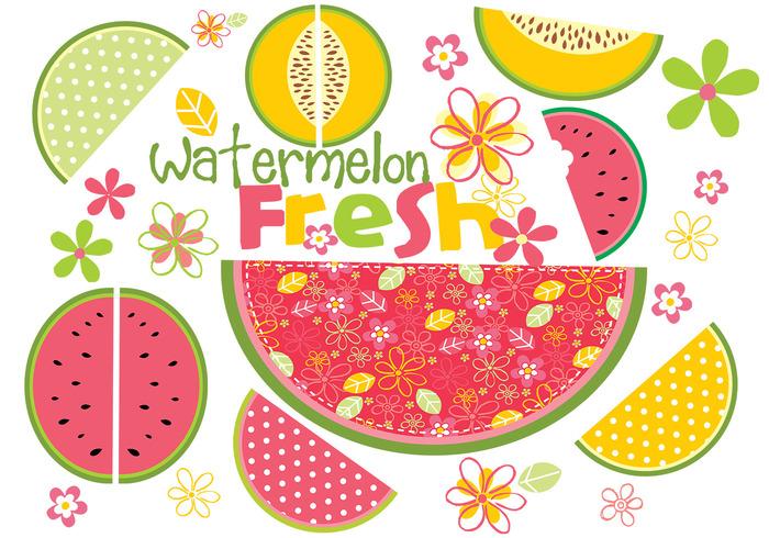 Fresh Watermelon Brush Pack