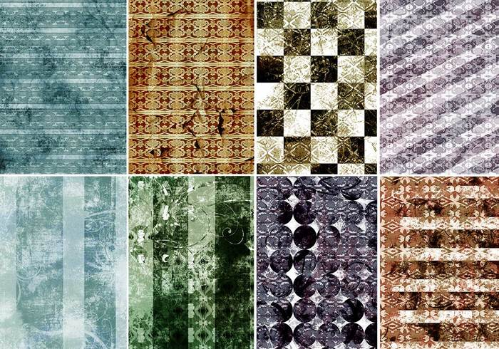 Textures de photoshop de carreaux grungy vintage