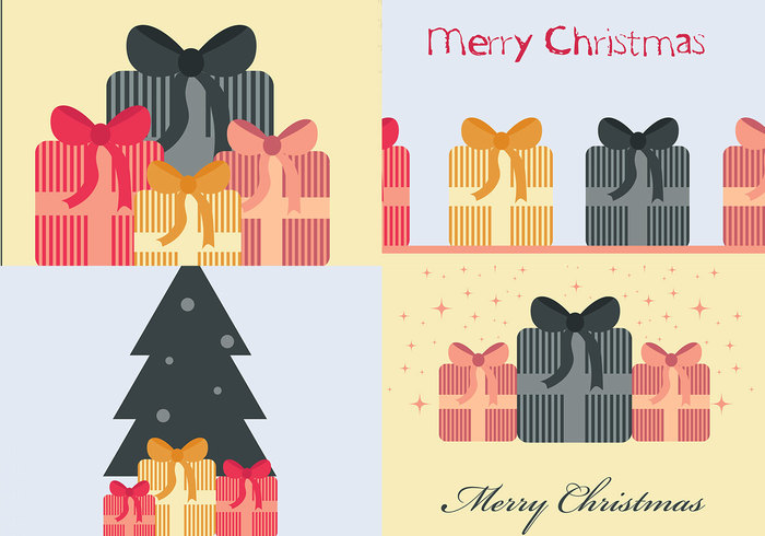 Christmas Present Photoshop Wallpaper Pack