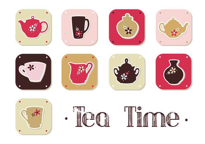 Tea Time Brush Pack