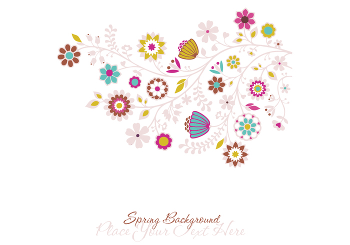 Spring Photoshop Background and Brush Pack