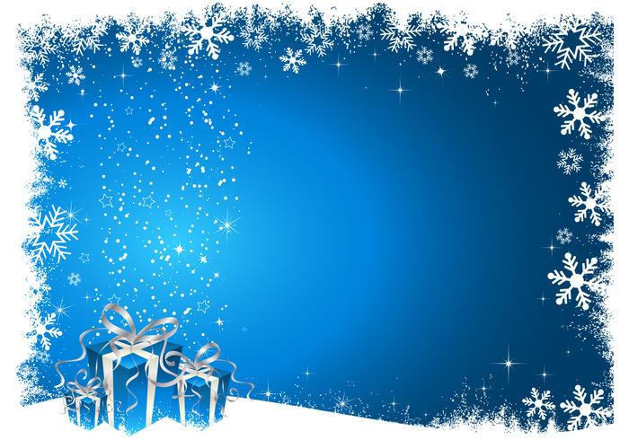 Blue Christmas Photoshop Background - Free Photoshop Brushes at ...