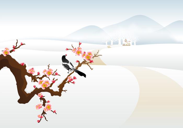 Winter Landscape Photoshop Wallpaper
