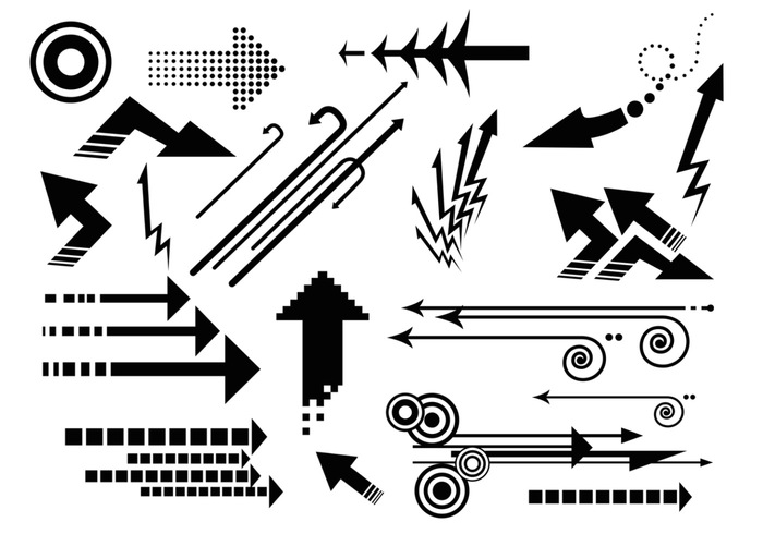 Arrow Brush Pack - Abstract Arrows