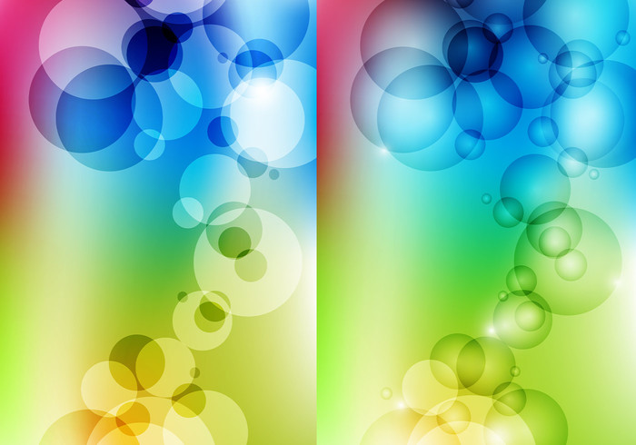 Colorful Bubble Wallpaper Pack