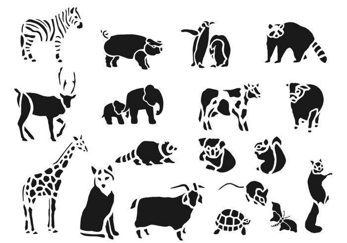 Zoo Animals Brush Pack