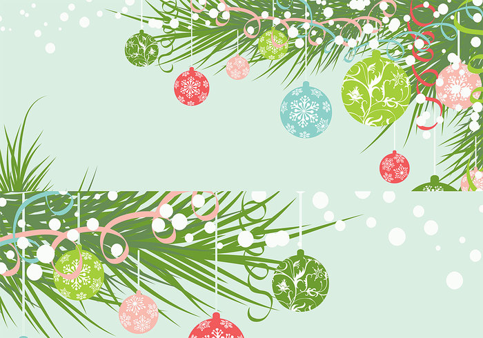Christmas Ornaments Wallpaper Pack