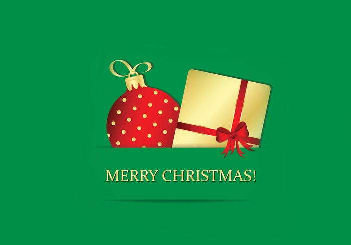 Emerald Merry Christmas Wallpaper
