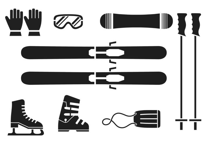 Winter Sports Brush Pack