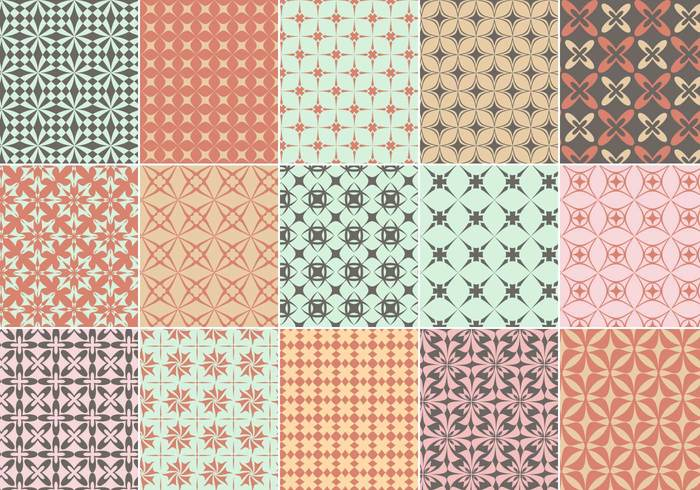 Geometrisches Musterpaket