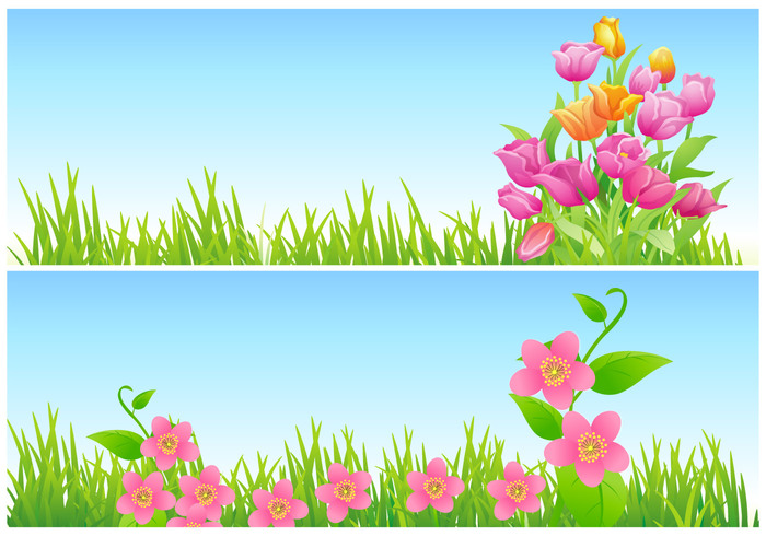 Tulip and Floral Wallpaper Pack