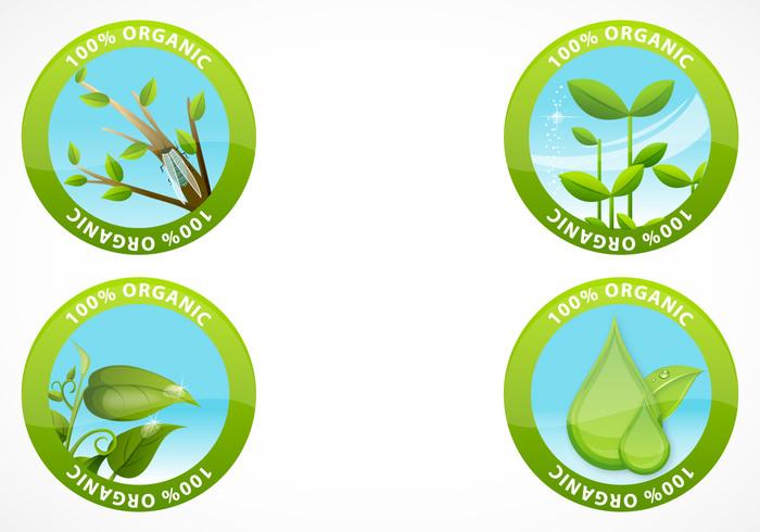 Organic Label Brush Pack