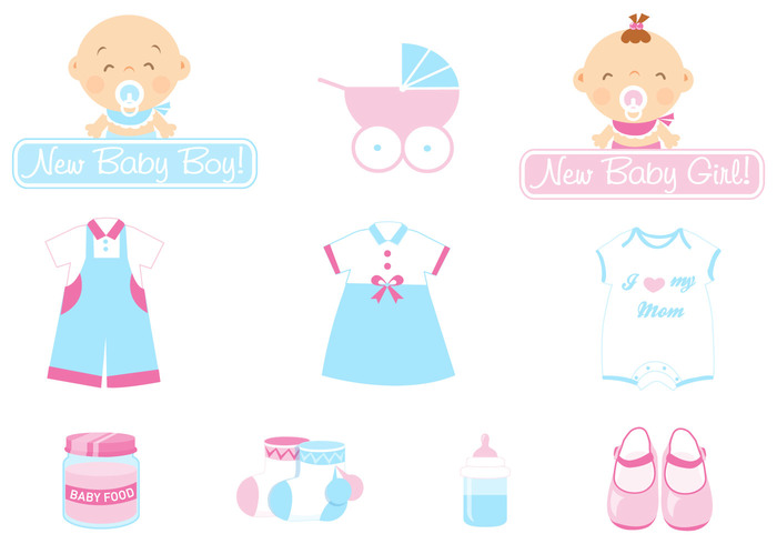 Baby Icon Brush Pack