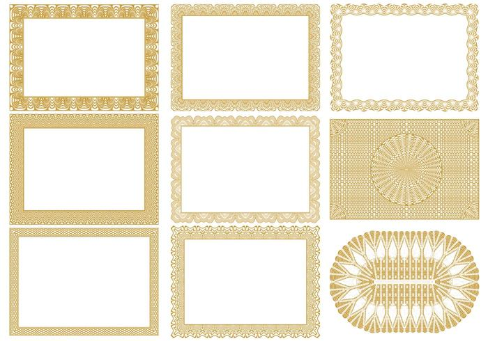 Certificate Border Brushes Pack  Certificate Borders Free Download