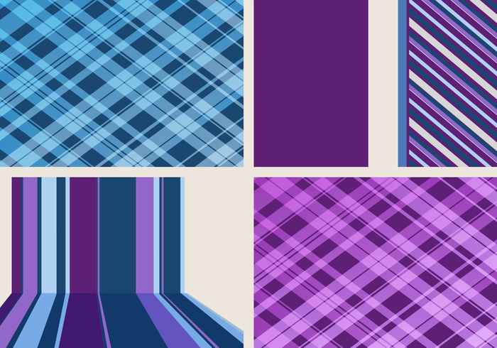 Stripes and Plaid Backgrounds Pack