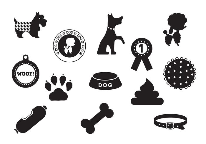 Dog Brushes Icon Pack