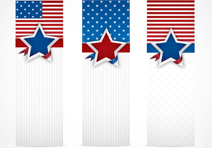 USA Banner Background Pack