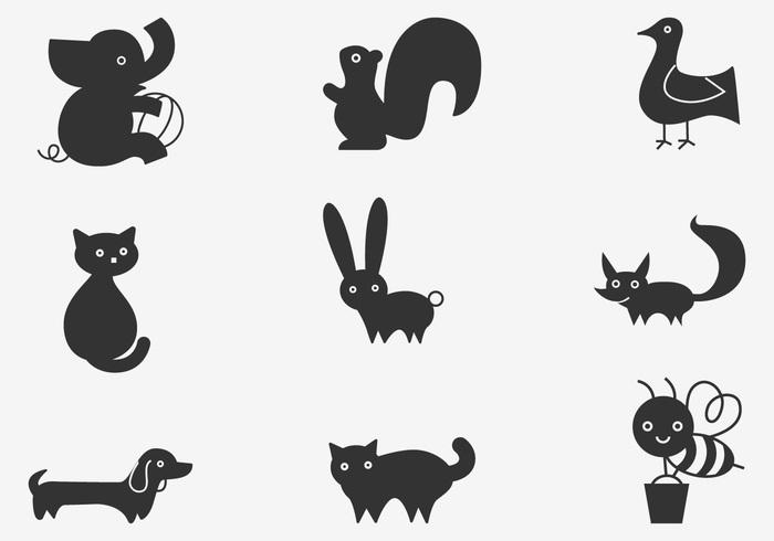 Cartoon Animal Brushes Pack
