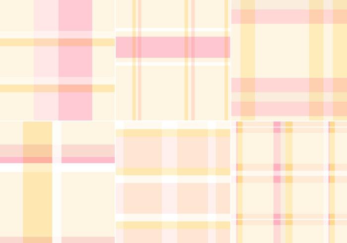 Plaid Pastel Pattern Pack