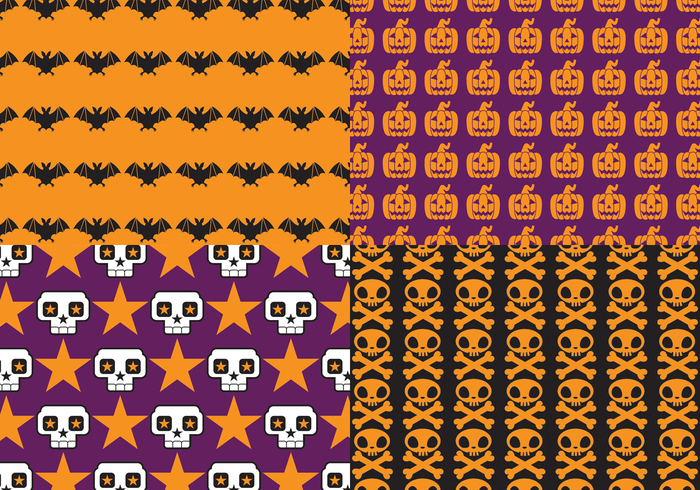 Bright Halloween Pattern Pack - Free Photoshop Brushes at Brusheezy!