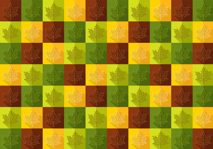 Fall Maple Leaf Pattern