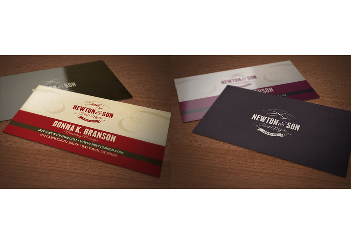 Marketing Manager Business Card Template PSD