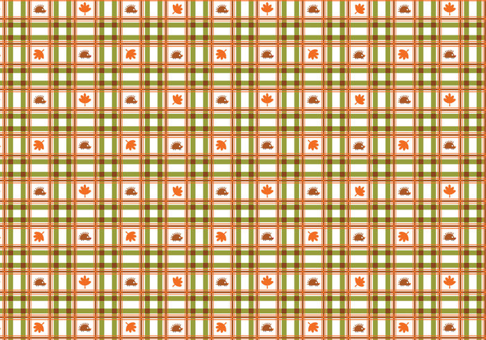 Cute Plaid Fall Pattern