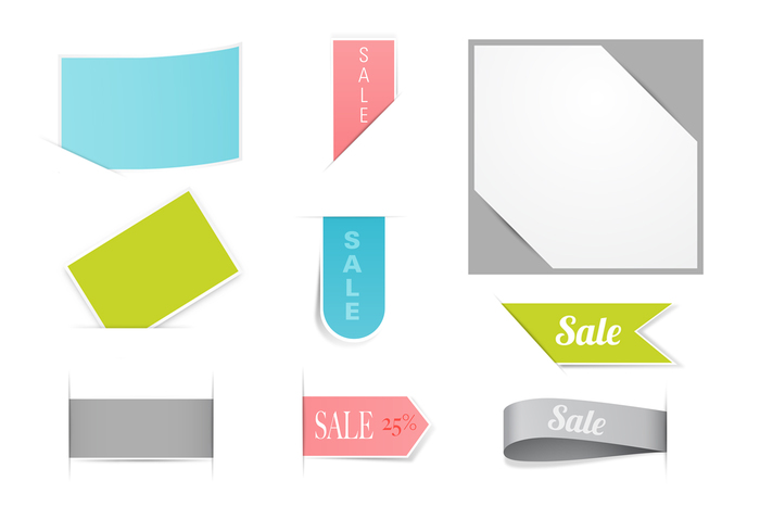 Business and Sale Tag Brushes Pack