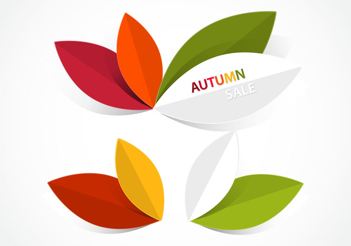 Abstract Autumn Leaves PSD Pack
