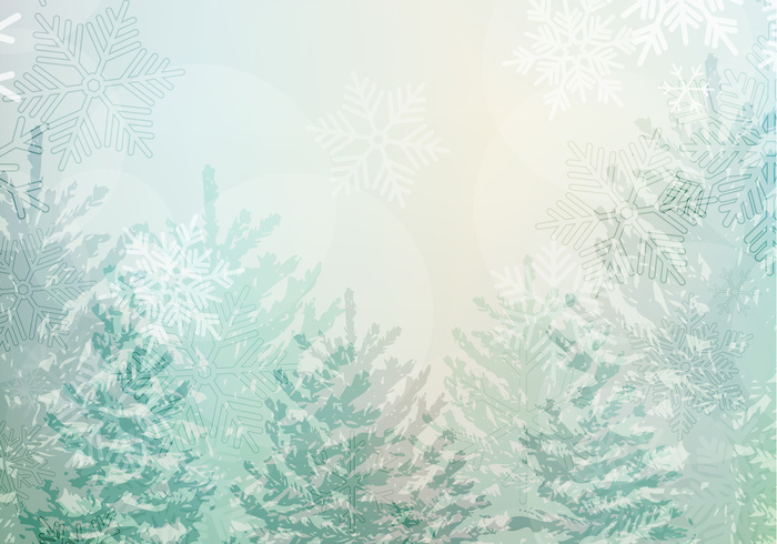 Snowy Winter Landscape Wallpaper Pack