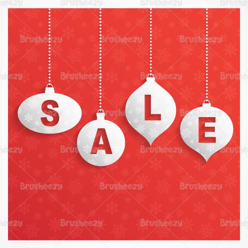 Retro Christmas Sale PSD