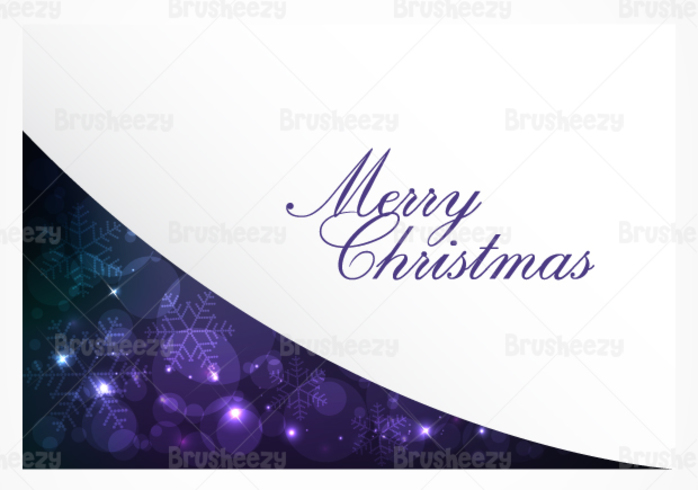 Purple Bokeh Christmas PSD Background